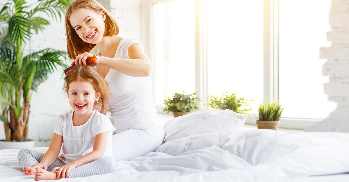 Come prendersi cura dei capelli dei nostri piccoli?